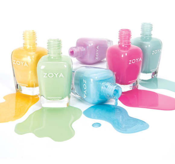 Zoya Delight e Zoya Naturel Satins