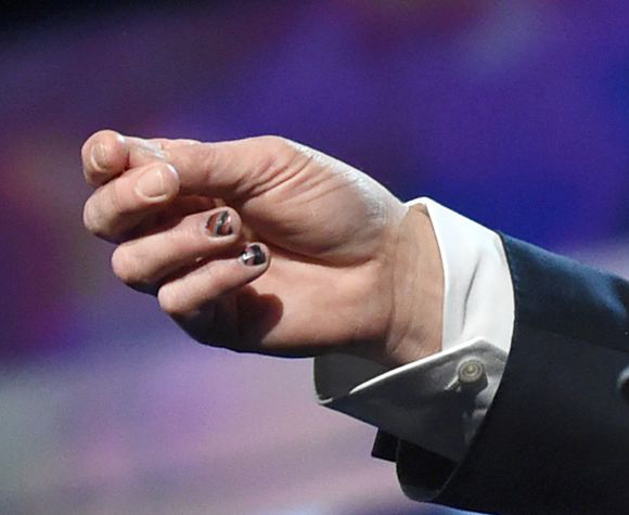 nail art maschile