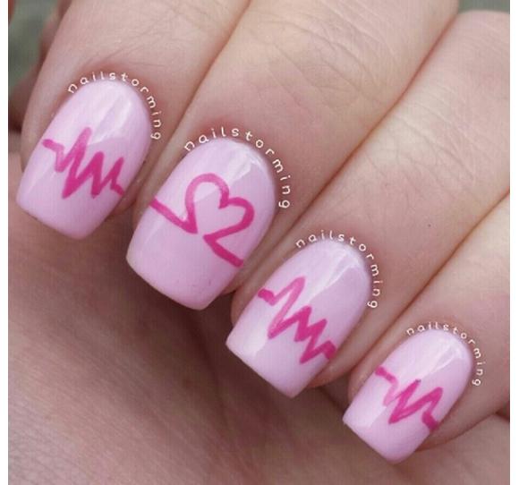 San Valentino Nail Art