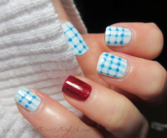 book nail art