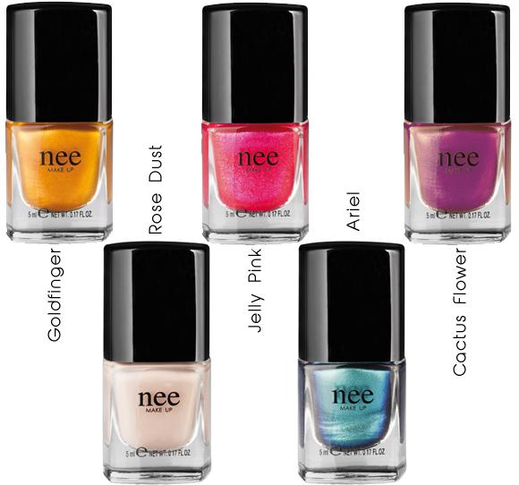 Nee Make Up Nail Polish: si preannuncia un'estate scintillante