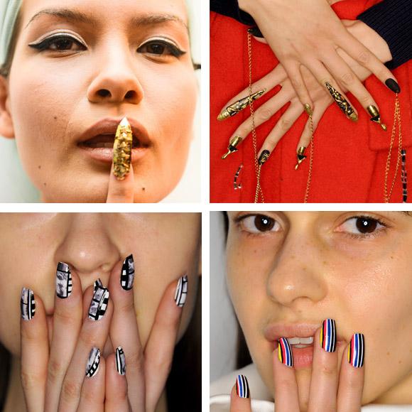 unghie delle sfilate