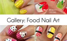 Food Nail Art