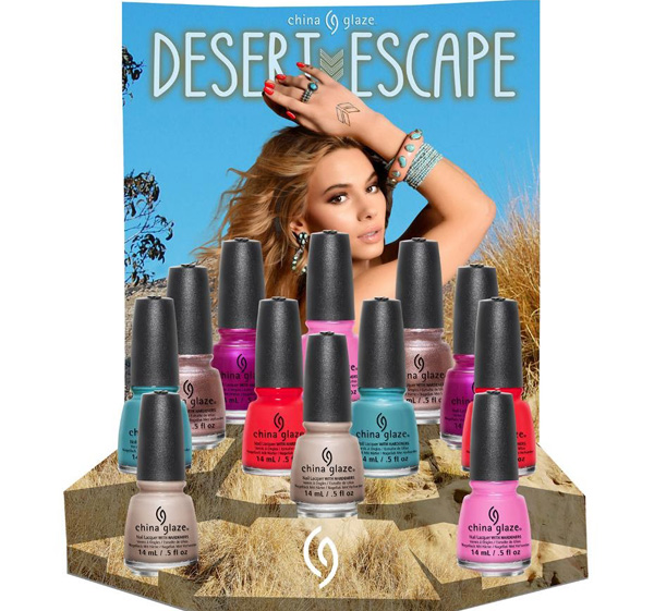 China Glaze Desert Escape