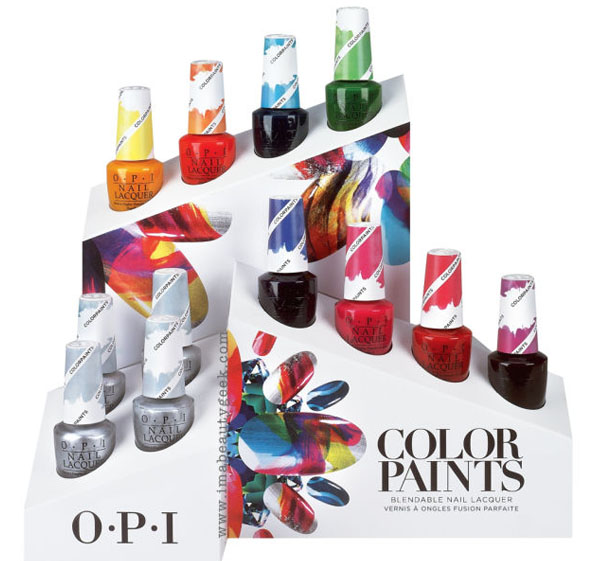 Essie Silk Watercolors OPI Color Paints