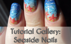 Tutorial Gallery: Seaside Nails