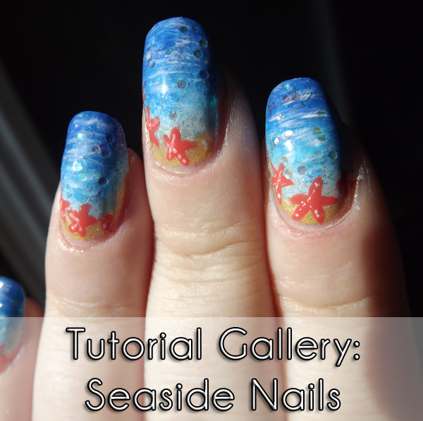 tutorial gallery seaside nails