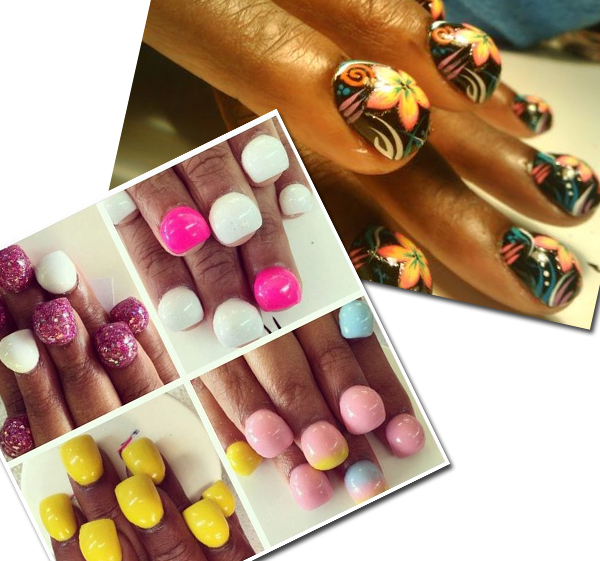 Molto Tendenze: Bubble nails, Aquarium Nails e le altre LA84