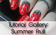 Tutorial Gallery: Summer Fruit Nail Art