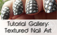 Tutorial Gallery: Textured Nail Art