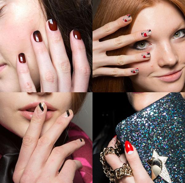 Tendenze unghie dalle Fashion Week