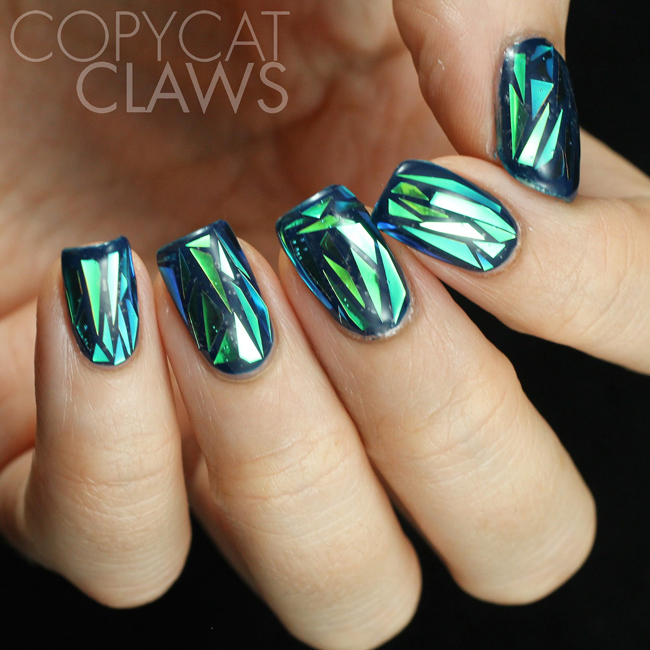 glass manicure
