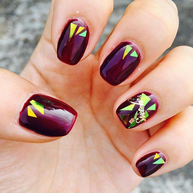glass manicure