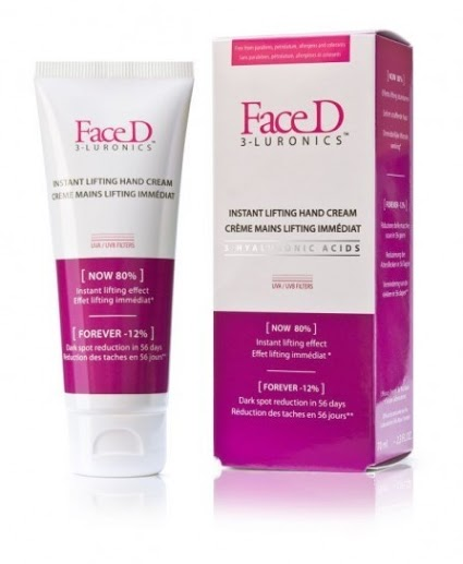 FaceD 3-LURONICS Crema Mani Lifting Effetto Immediato