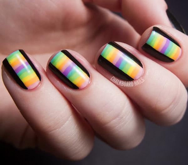 Taping Nail Art