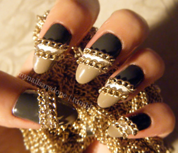 chains (c) My Nails Are Dope