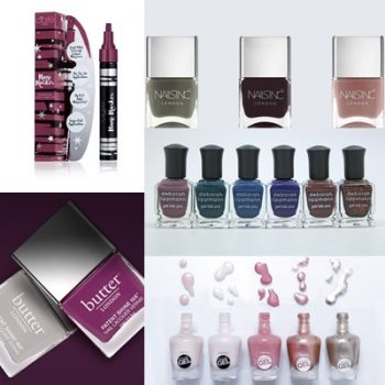 Ciatè London, Butter London, Nails Inc, Deborah Lippman, Sally Hansen
