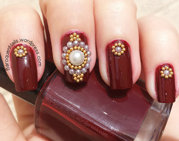 pearls (c) Baroque Nails