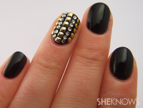 studded nail (c) She Knows