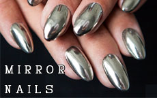 Mirror Nails: luccicanti come le feste