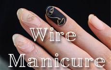 Wire Manicure: fili d'oro per manicure di tendenza