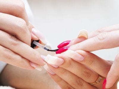 eyeshadow nail art