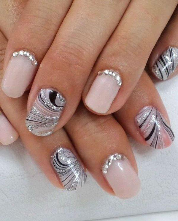 Nail art per la sposa: tutto il meglio della wedding nail art